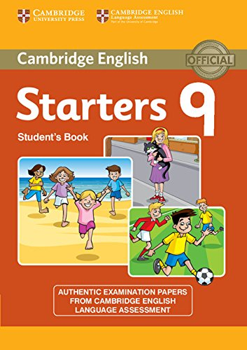 Cambridge Young Learners English Tests Starters 9 Student's Book