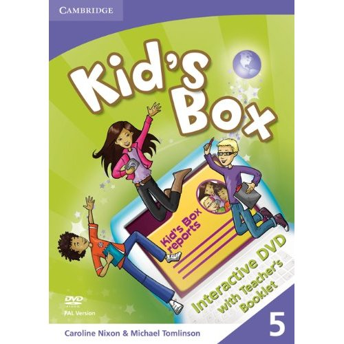 Kid's Box Level 5 Interactive DVD PAL with Teacher's Booklet