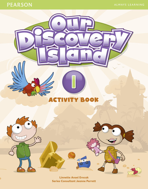 Our Discovery Island Level 1 Activity Book (with CD-ROM)