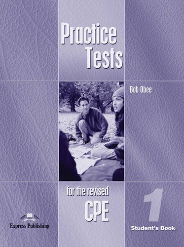 CPE Practice Tests 1 Student's Book