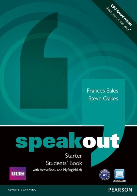 Speakout Starter Student's Book / DVD / Active Book & MyLab