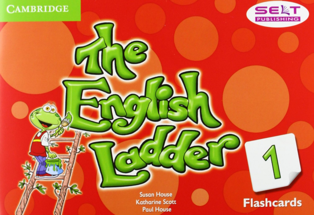 The English Ladder 1 Flashcards (Pack of 100)