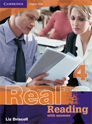 Cambridge English Skills: Real Reading Level 4 Book with answers