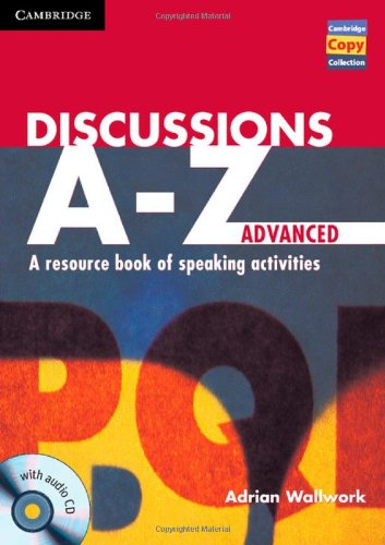 Discussions A-Z Advanced - Book and Audio CD