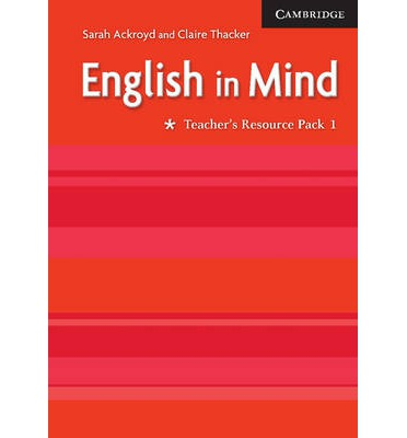 English in Mind 1 Teacher's Resource Pack