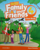 Family and Friends Second Edition 4 Class Book with Student's Site