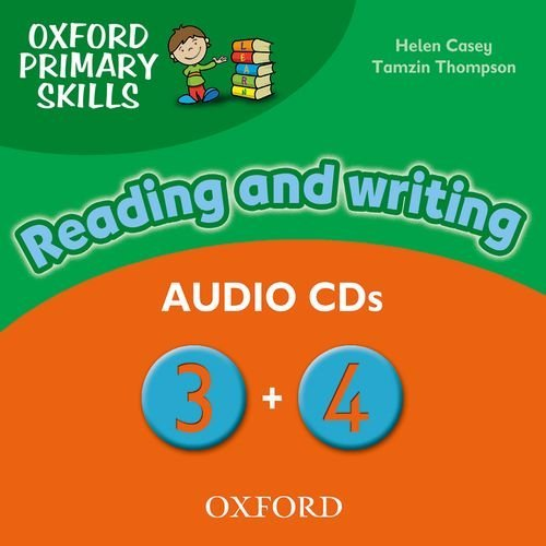 Oxford Primary Skills 3-4 Class Audio CDs
