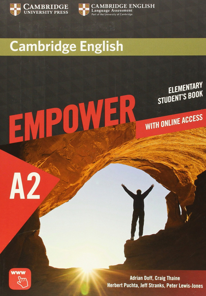 Cambridge English Empower Elementary Student's Book with Online Assessment and Practice, and Online Workbook