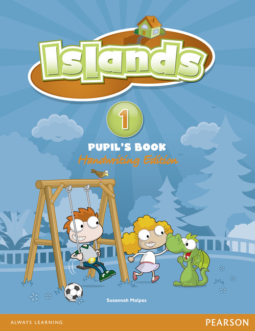 Islands Handwriting Level 1 Pupil's Book plus Pin Code