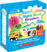 Nonfiction Sight Word Readers Parent Pack: Level B (25 books)