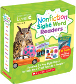 Nonfiction Sight Word Readers Parent Pack: Level C (25 books)