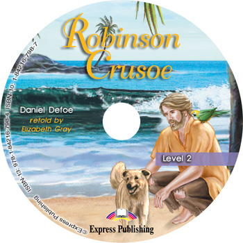 Graded Readers Level 2  Robinson Crusoe Audio CD