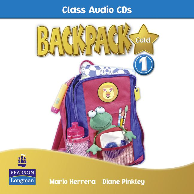 Backpack Gold Level 1 Class Audio CD