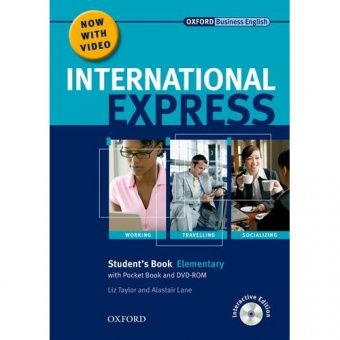 International Express, Interactive Editions Elementary Student's Pack: (Student's Book, Pocket Book & DVD)