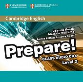 Cambridge English Prepare! Level 2 Class Audio CDs (2) (Лицензия)