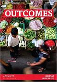 Outcomes Second edition Advanced Students Book with Access Code and DVD