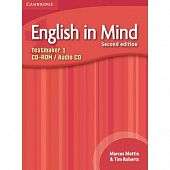 English in Mind (Second Edition) 1 Testmaker Audio CD/CD-ROM