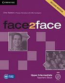 face2face (Second Edition) Upper-intermediate Teacher's Book with DVD