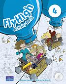 Fly High 4 Activity Book (with CD-ROM)
