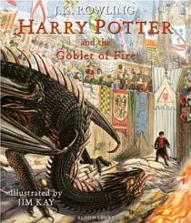 Harry Potter and the Goblet of Fire (illustrated ed) - Hardback