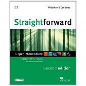 Straightforward (Second Edition) Upper Intermediate Student's Book + Webcode