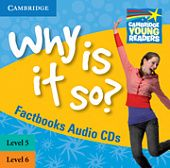 Factbooks: Why is it so? Levels 5-6 Factbook Audio CDs (2)