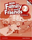 Family and Friends Second Edition 2 Workbook & Online Skills Practice Pack