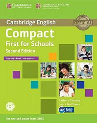 Compact First for Schools 2nd Edition Class Audio CD