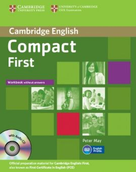 Compact First Workbook without Answers with Audio CD