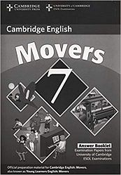 Cambridge Young Learners English Tests 7 Answer Booklet
