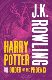 Harry Potter and the Order of the Phoenix (Book 5) - Adult Cover