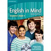 English in Mind (Second Edition) 4 Student's Book with DVD-ROM