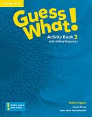 Guess What! Level 2 Activity Book with Online Resources