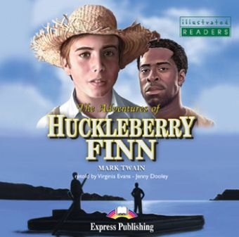 Illustrated Readers Level 3  The Adventures of Huckleberry Finn Audio CD