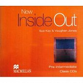 New Inside Out Pre-Intermediate Class Audio CDs (Лицензия)