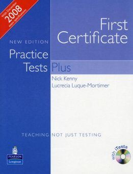 First Certificate Practice Tests Plus New Edition Students Book without Key, iTest CD ROM and Audio CD