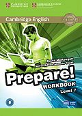 Cambridge English Prepare! Level 7 Workbook with Audio-online