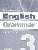 Learn and Practise English Grammar 3 Answer Key