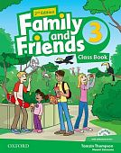 Family and Friends Second Edition 3 Class Book and multiROM Pack