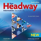 New Headway Intermediate Fourth Edition Class Audio CDs (3)