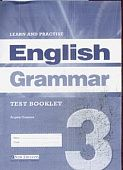 Learn and Practise English Grammar 3 Test Booklet