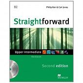 Straightforward (Second Edition) Upper Intermediate Workbook without Key + CD