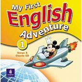 My First English Adventure 1 Song CD