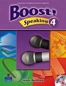 Boost Speaking 4 Student's Book with Audio CD