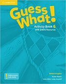 Guess What! Level 6 Activity Book with Online Resources