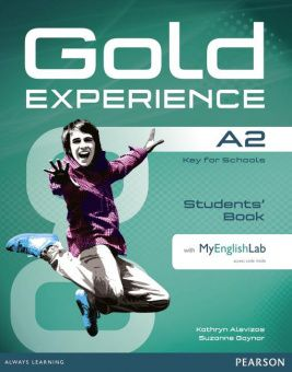 Gold Experience A2 Students' Book with DVD-ROM and MyEnglishLab