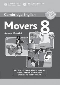 Cambridge Young Learners English Tests Movers 8 Answer Booklet