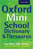 Oxford Mini School Dictionary & Thesaurus Paperback