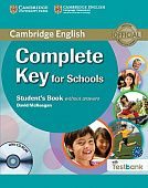 Complete Key for Schools Student's book without answers with CD-ROM with Testbank