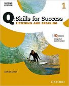 Q: Skills for Success Second Edition Listening and Speaking 1 Student Book with IQ Online